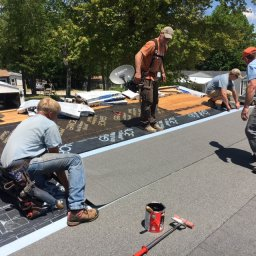 WBIF, roof repair, Jaffrey, We Build It Forward